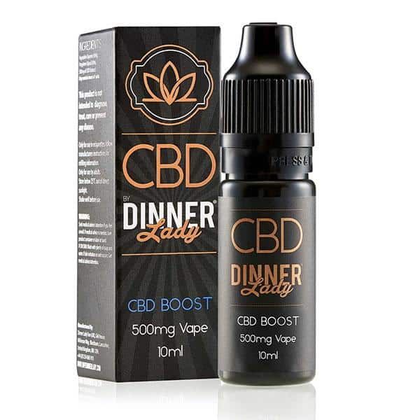 Dinner Lady CBD Boost Natural Vape Additive 10ml